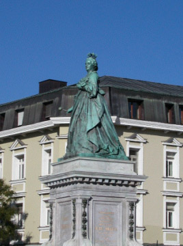 monumento a Maria Teresa - Klagenfurt