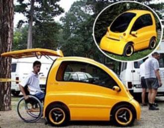 Kengaru macchina per disabili