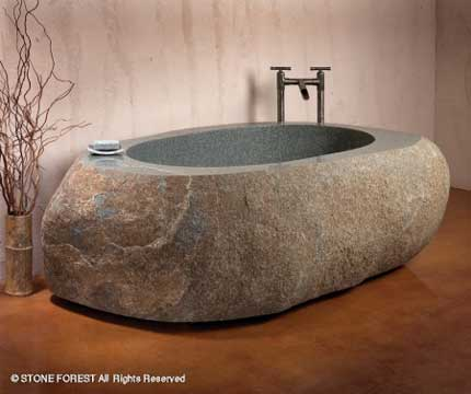vasca da bagno in pietra | home inutility & fashion design ... - Vasche Da Bagno D Arredo