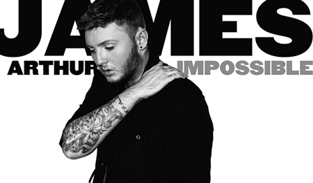 La copertina di Impossible di James Arthur