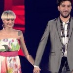 Veronica De Simone e Manuel Foresta sul palco di The Voice